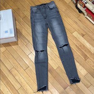 Joe high rise skinny jeans songs bottoms denim